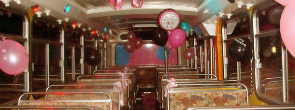 Birthday Party Bus Hire